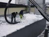 Torrsugning snö