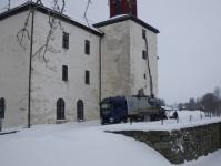 Torrsugning på Torpa stenhus