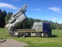 Vår torrsugningsbil
